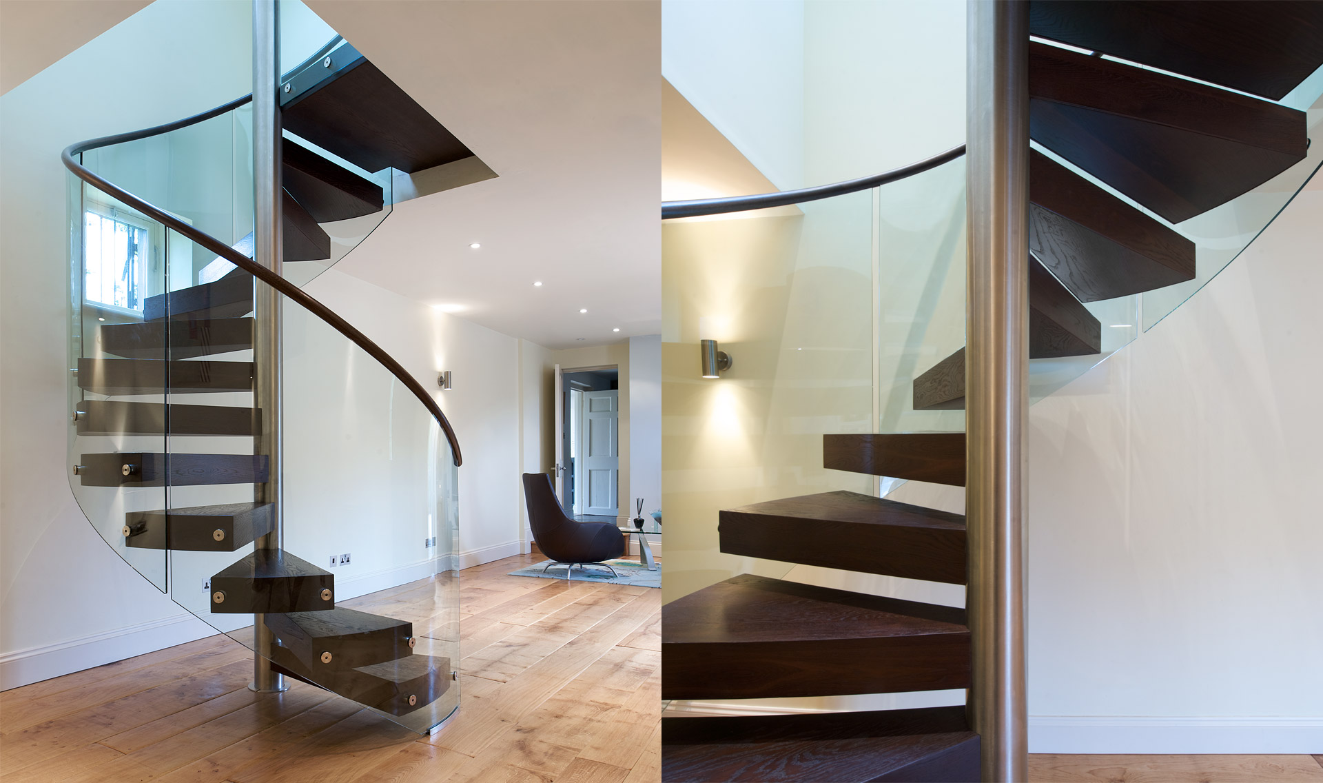 Merveilleux Stairs   Floating Oak Tread   TinTab   Contemporary, Bespoke, Design U0026  Manufacturing In Newhaven, East Sussex